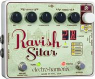 Electro-Harmonix RAVISH SITAR Sitar Emulator  9.6DC-200 PSU included
