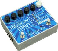 Electro-Harmonix STEREO MEMORY MAN WITH HAZARAI Digital Delay/Looper 9.6DC-200 PSU included