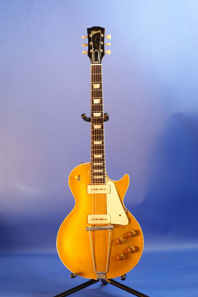 78eb6ac384 1952 Gibson Les Paul All Gold Goldtop - Tundra Music INC Vintage ...