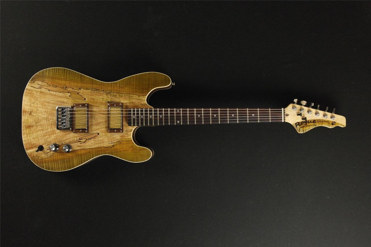 Rogue Custom Guitars SC-NG1 Custom Shop Spalted/Flame Maple Guitar MADE IN  CANADA