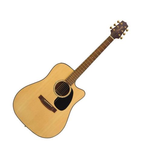 takamine eg340c acoustic electric dreadnought natural 289 tundra music inc vintage guitars. Black Bedroom Furniture Sets. Home Design Ideas