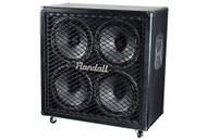 Randall THRASHER412S Straight 4x12W Ported Guitar Speaker Cabinet - Black
