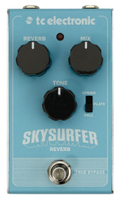 TC Electronics SKYSURFER REVERB Studio Quality Reverb with Award-Winning TC ELECTRONIC Algorithms