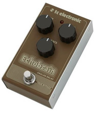 TC Electronics ECHOBRAIN ANALOG DELAY Studio Quality Reverb with Award-Winning TC ELECTRONIC Algorithms