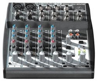 Behringer Premium 8-Input 2-Bus Mixer with XENYX Mic Preamps and British EQs