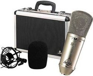 Behringer Gold-Sputtered Large-Diaphragm Studio Condenser Microphone