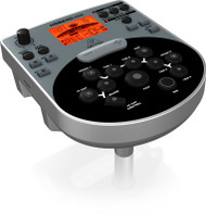 Behringer 8-Piece Electronic Drum Set with 240 Sounds, 15 Drum Sets, LCD Display and USB/MIDI Interface