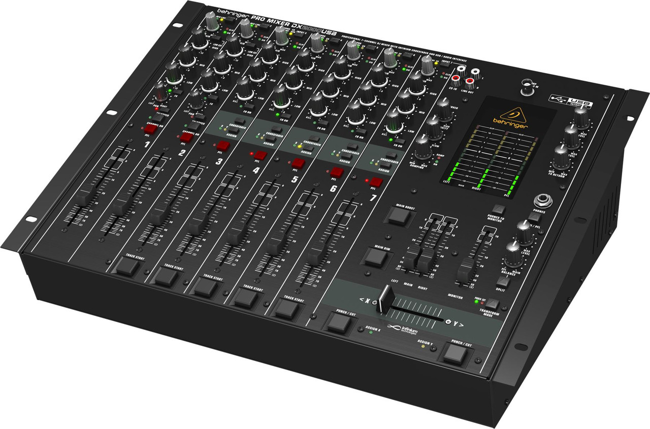 behringer 7 channel dj mixer infinium vca crossfader and usb audio interface tundra music inc. Black Bedroom Furniture Sets. Home Design Ideas
