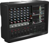 Behringer 500-Watt 6-Channel Powered Mixer, KLARK TEKNIK Multi-FX Processor, FBQ