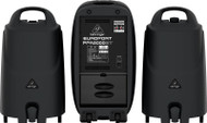 Behringer 2000-Watt 8-Channel Portable PA System with Bluetooth, Wireless Microphone Option, KLARK TEKNIK Multi-FX Processor and FBQ