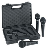 Behringer 3 Dynamic Cardioid Vocal and Instrument Microphones (Set of 3)