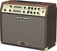 Behringer 180-Watt 2-Channel Stereo Acoustic Instrument Amplifier with Dual FX and FBQ