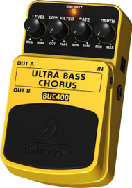 Behringer Ultimate Bass Chorus Effects Pedal