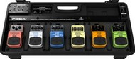 Behringer Universal Effects Pedal Floor Board with 9 V DC Power Supply and Patch Cables