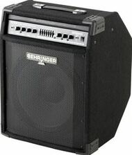 "Behringer 300-Watt 2-Channel Amplifier with 15"" Speaker, FBQ Spectrum Analyzer, Compressor and Ultrabass Processor"