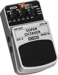 Behringer Ultimate Octaver Effects Pedal