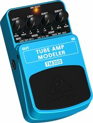 Behringer Ultimate Tube Amp Modeling Effects Pedal