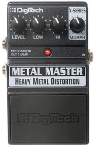 Digitech XMM Metal Master Guitar distortion pedal
