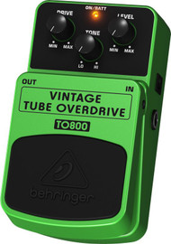 Behringer Vintage Tube-Sound Overdrive Effects Pedal