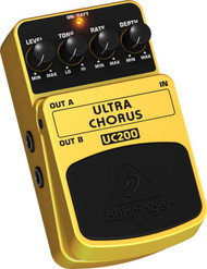 Behringer Ultimate Stereo Chorus Effects Pedal
