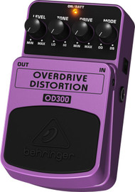 Behringer 2-Mode Overdrive/Distortion Effects Pedal