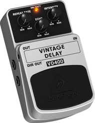 Behringer Vintage Analog Delay Effects Pedal