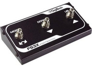 Digitech FS3X Three button foot pedal for JamMan™ Looper ad JHE Hendrix pedal