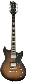 Discontinued - Reverend Sensei RA FM Coffee Burst Flame Maple - SENRAFM