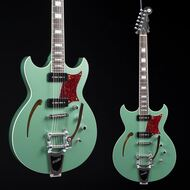 Discontinued - Reverend Tricky Gomez 290 Satin Metallic Alpine - TG290
