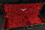 Brand New! Fender Custom Shop Case Center Pocket Red Plush - Black Tolex