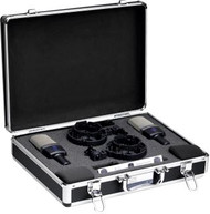 AKG C214 MATCHED PAIR Stereo Set includes: 2 x C214; 2 x Elastic spider suspensions; 2 x Windscreen; 1 x Aluminum carrying case; Measurement documents