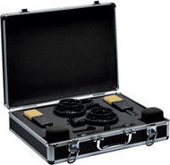 AKG C414 XLII MATCHED PAIR Stereo Set Includes: 2 x C414XLII; 2 Elastic spider suspensions; 2 x Windscreen; 1 x Stereo Mounting Bar; Aluminum carrying case and measurement documents
