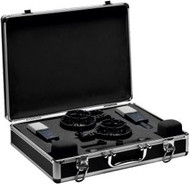 AKG C414 XLS MATCHED PAIR Stereo Set Includes: 2 x C414XLS; 2 Elastic spider suspensions; 2 x Windscreen; 1 x Stereo Mounting Bar; Aluminum carrying case and measurement documents