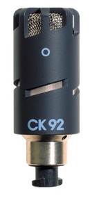 AKG CK92 High-performance small condenser capsule with an omnidirectional polar pattern.