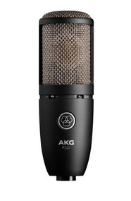 AKG P220 Large-diaphragm true condenser microphone w/ switchable bass-cut filter and attenuation pad.