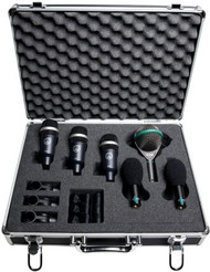 AKG RHYTHM PACK Professional studio and live drumset Mic Pack w/ 1 x D112, 3x D40, 2x C430