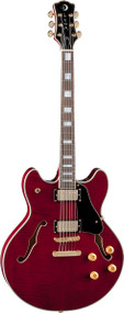 LUNA Athena Semi-Hollowbody - Trans Red
