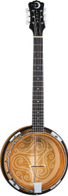 LUNA Banjo Celtic 6-String