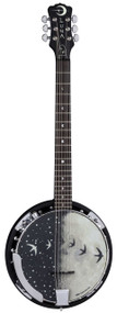 LUNA Moonbird Banjo 6-String w/Pickup
