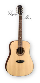 LUNA Gypsy Muse Dreadnought Pack w/Gig & Acc