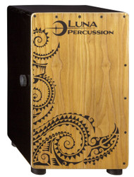 LUNA Luna Cajon Black with Bag