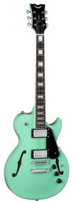 Dean Shire Semi Hollow Body w/Piezo Aqua