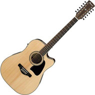 Ibanez AW7012CE-NT ELECTRIC ACOUSTIC  GUITAR 12 STRING