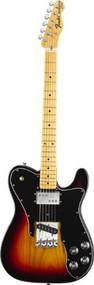 Fender American Vintage 72 Telecaster Custom 3 Color Sunburst Maple Fretboard