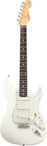 Fender Vintage Hot Rod 62 Stratocaster Olympic White Artist Series E. Guitar