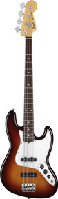 Fender American Special Jazz Bass Rosewood 3 Tone Sunburst With Gig Bag