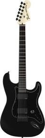 Fender Jim Root Stratocaster Ebony Black With Black Artist Series E. Guitar
