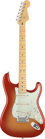 Fender American Deluxe Stratocaster Maple Neck SSM Electric Guitar 0119002770
