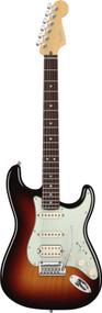 Fender American Deluxe Stratocaster HSS Rosewood 3-Color Sunburst E. Guitar