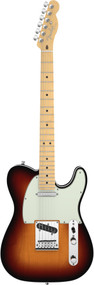 Fender American Deluxe Telecaster Maple Neck 3-Color Sunburst Electric Guitar